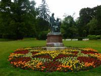 Parkanlage in Baden