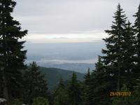 Der Blick vom Grouse Mountain