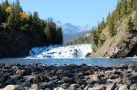 Wasserfall am Bow River