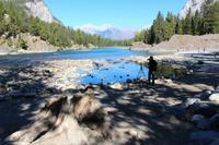 Am Bow River bei Banff
