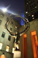 Atlas-Figur am Rockefeller Center