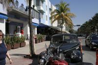 Am Ocean Drive in Miami Beach