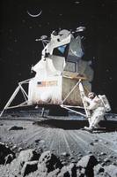 Foto von der Mondlandung