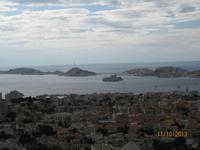 Traumhafter Ausblick über Marseille