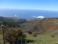 Madeira, Levada do Paul, Blick auf die Südwestküste