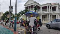Malaysia, Penang, Trishawfahrt