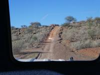 Namibia, Namseb Lodge, Zufahrt