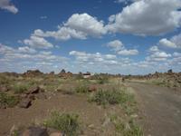 namibische Landschaftsimpression