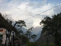 aber grandiose Ausblicke auf die Annapurnakette