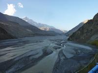 Flussbett vom Kali Gandaki