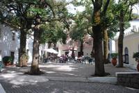 043. Hauptplatz in Caldas de Monchique