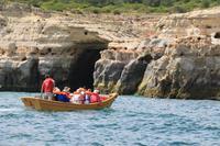 Grotten-Bootsfahrt an der Algarve-Küste