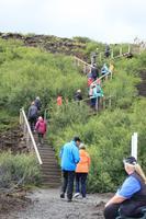Island Krater Grabrok Eingang
