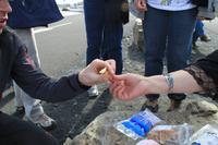 Island - Dettifoss - Trockenfisch Kostprobe
