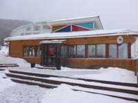 Russland, Baikalsee, Listwjanka, Restaurant Hotel Krestovaja Pad