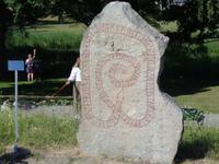 Runenstein am Schloß Gripsholm