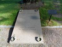 Grabplatte Kurt Tucholskis