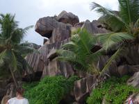 Grand Anse Strand in La Digue, Seychellen (5)