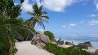 Traumstrand Anse Source d'Argent in La Digue, Seychellen (20)