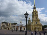 Russland, St.Petersburg, Brücke zur Peter und Paul Festung