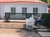 Russland, Peterhof, Wasserüberraschung gefällig ?