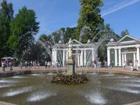 Russland, Peterhof, Eva-Brunnen