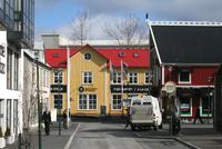 In der Altstadt von Reykjavik