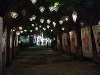 Lampions in der quirligeren Stadt Hue