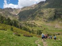 Abstieg in das Tal des Comapedrosa