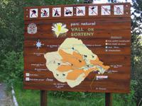 Eingang Nationalpark Sorteny