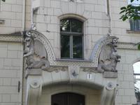 Baltikum, Lettland, Riga, Jugendstilviertel