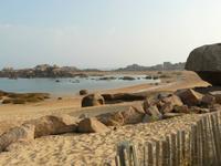 Trégastel Rosarote Granitküste