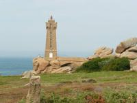 Ploumanach rosarote Granitküste