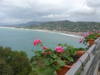 Blick auf den Strand bei Agropoli
