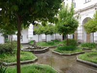 Kräutergarten in der Kartause von Padula