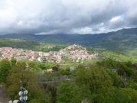 Blick auf Caselle in Pittari