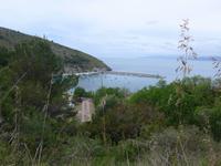 Blick auf den Hafen von Palinuro