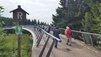 Wanderung auf dem Rennsteig bei Oberhof