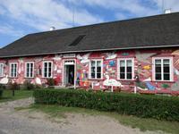 122 Fahhradtour Kihnu Inselmuseum