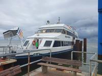 Unser Schiff nach Sylt