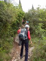 Wanderung auf dem Rocca del Garda