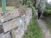 Start zur Wanderung zum vergessenen Dorf Campo