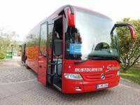 Unser ganz neuer fünf Sterne Bus