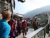 Mit der Seilbahn zum Monte Baldo