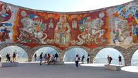 Mosaik bei Stepanzminda