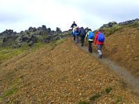 Wanderung im Hochland von Landmannalaugar