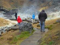 Geothermalgebiet Krysuvik auf der Halbinsel Reykjanes