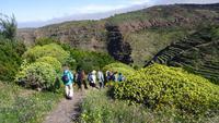 La Gomera /  Wandern El Cercado