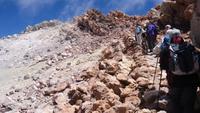 Richtung Teide zum Gipfel