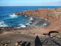 El Golfo (Laguna Verde) - Wanderreise auf Lanzarote - Singlereisen - Wandern - Lanzarote - Spanien